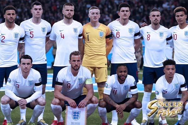 ทีมชาติอังกฤษกับการแข่งขันรอบ 4 ทีม